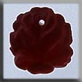 12014 - Medium Rose Matte Ruby 13mm - 1 per pkg